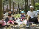 4月25日親子遠足がありました。