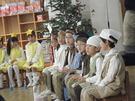 12月19日幼児組のクリスマスを行いました。