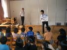 10月12日手洗い講習会を行いました。