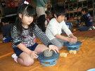1月29日  陶芸をしました。